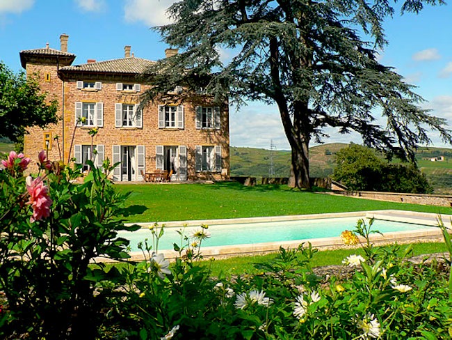 Божоле, поместье Domaine du Mont Verrier