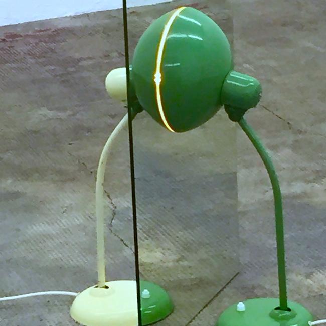 Это мой любимый объект: две лампы и зеркала