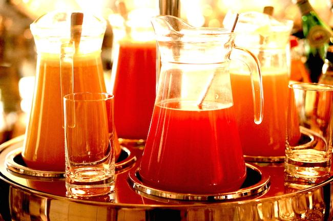 Завтраки Москвы, Lotte hotel: cолнце, шампанское, мисо-суп