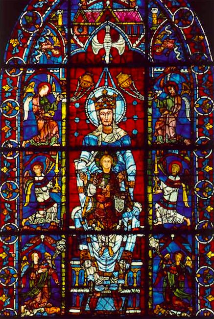 Франция, Шартр, часть третья, ночь в доме епископа