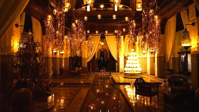 Марокко: интерьеры отеля Royal Mansour