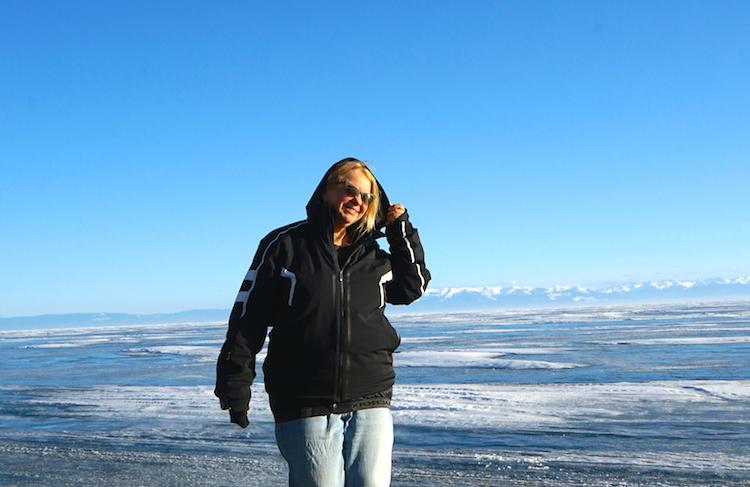 Байкал: первый выезд на лед
