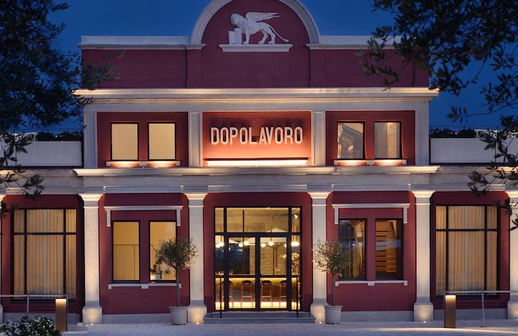 Dopolavoro, один из четырех мишленовских ресторанов в Венеции