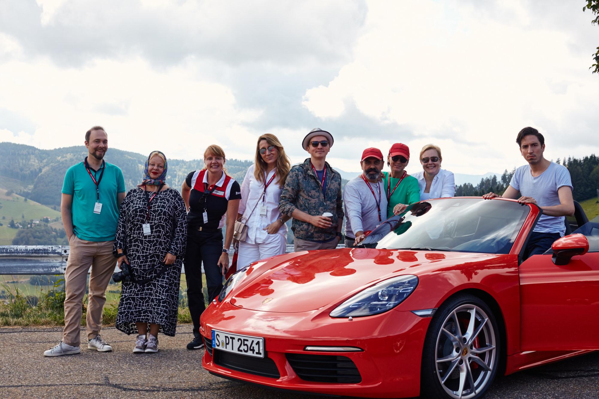 Porsche gourmet tour, третий день, окончание: обратно в Черный лес из Франции