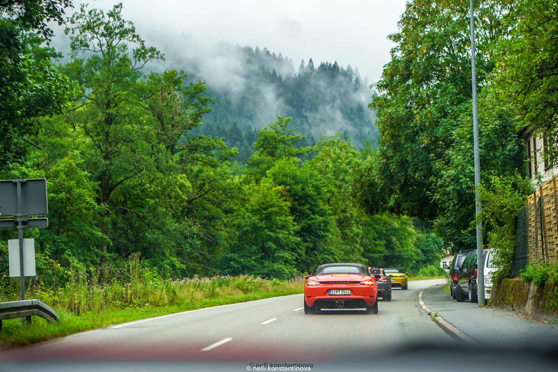 Porsche gourmet tour: возвращение на базу