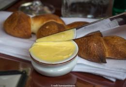 Хлеб с маслом