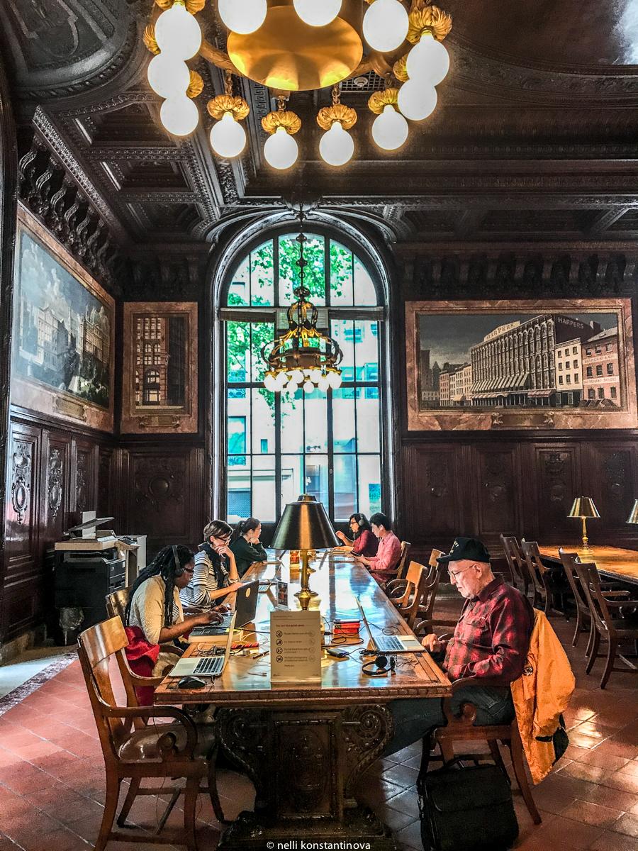 Нью-Йорк: местная Ленинка, или Публичная библиотека