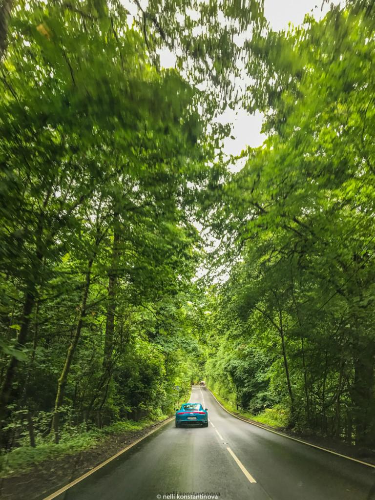 Руление по левой стороне дороги не так травматично, если руль с привычной стороны