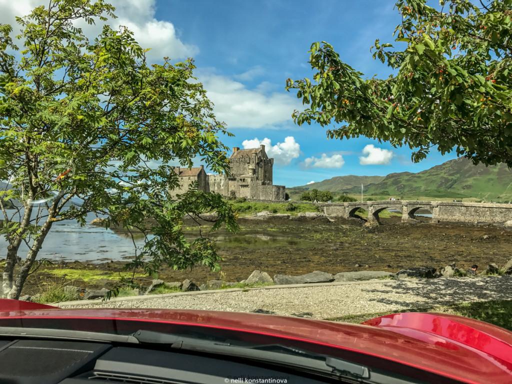 Замок  Eilean Donan