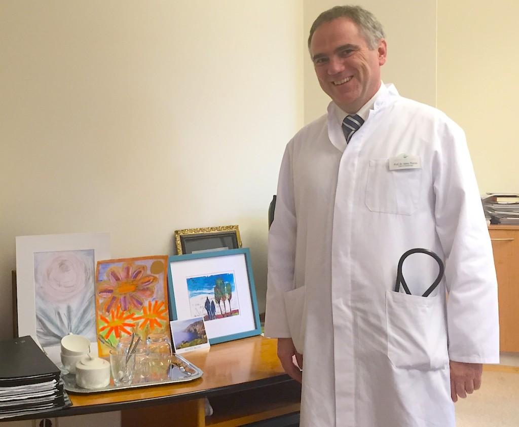Профессор Терес, глава кардиоотделения клиники Medical park d районе Хумбольдтмюле