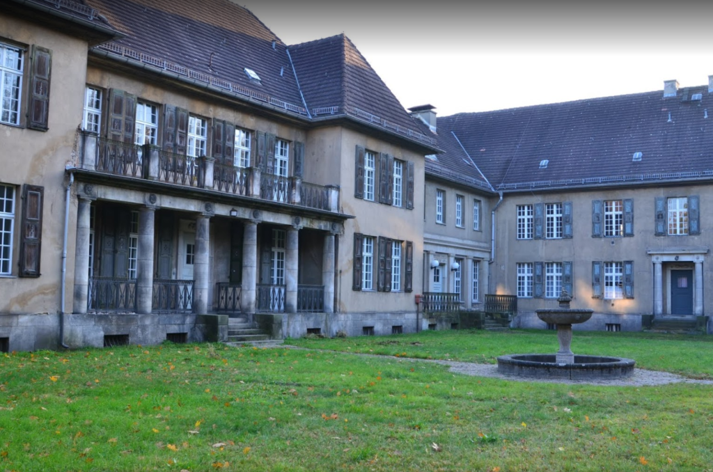 Клиника Helios  в районе Berlin Buch. Фото Ralf Setecki с сайта Google.com
