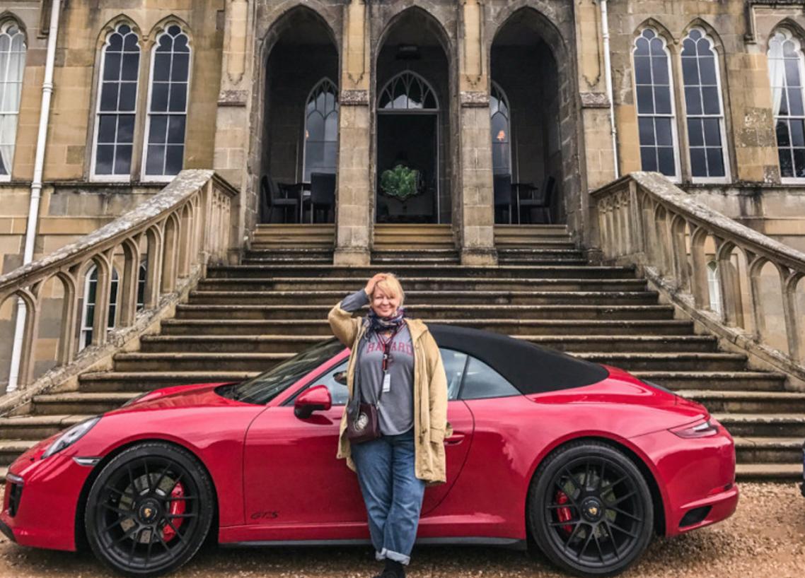 Porsche, экспедиция по Шотландии, день второй: замок Stirling, Ross Priory и Inverlochy castle