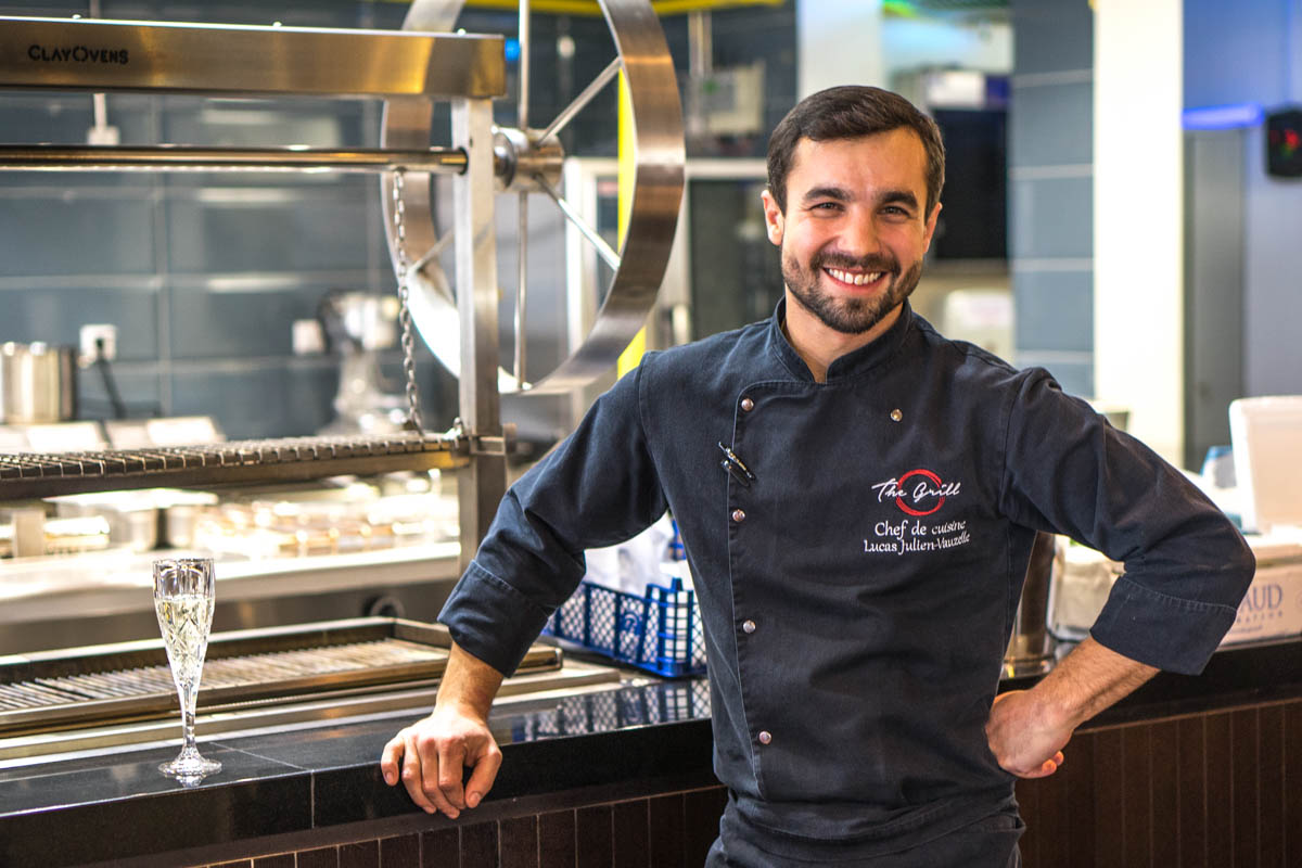 Астана: шеф-повар дает мастер-класс по выбору продуктов и ужин в ресторане The Grill