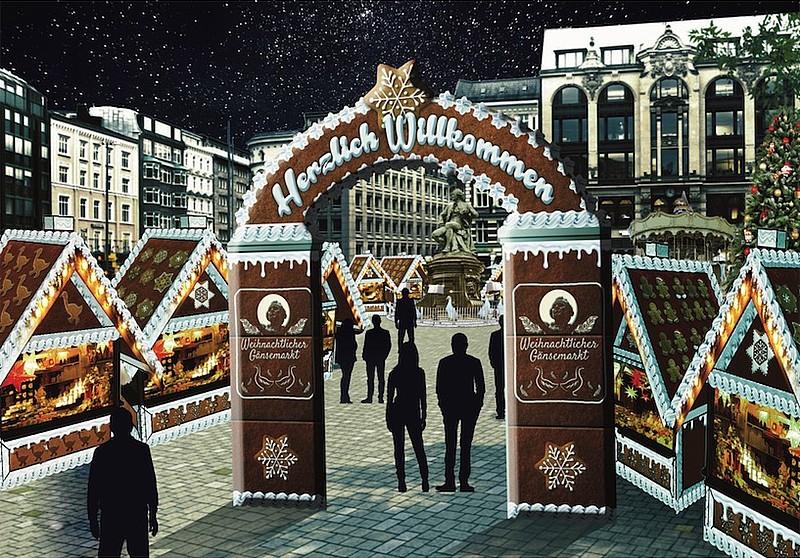 © Zerbe Hamburger Weihnachtsmarktbetriebe