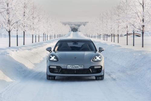 Porsche snow rally: затерянные в российских снегах