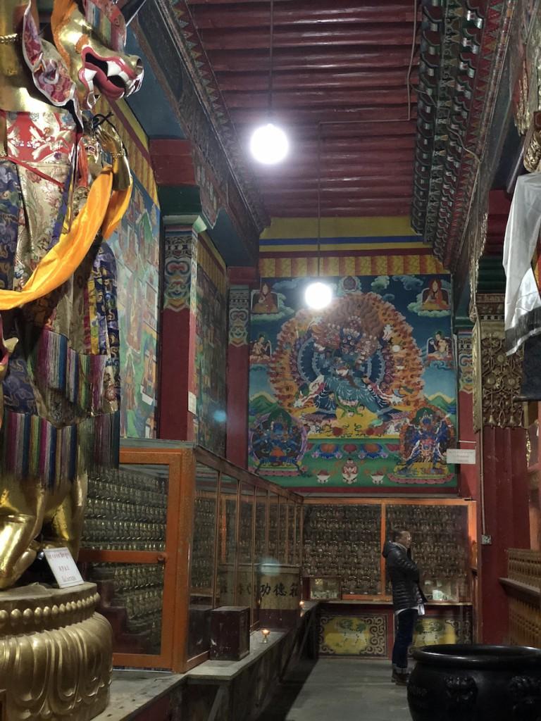 Центральное помещение монастыря