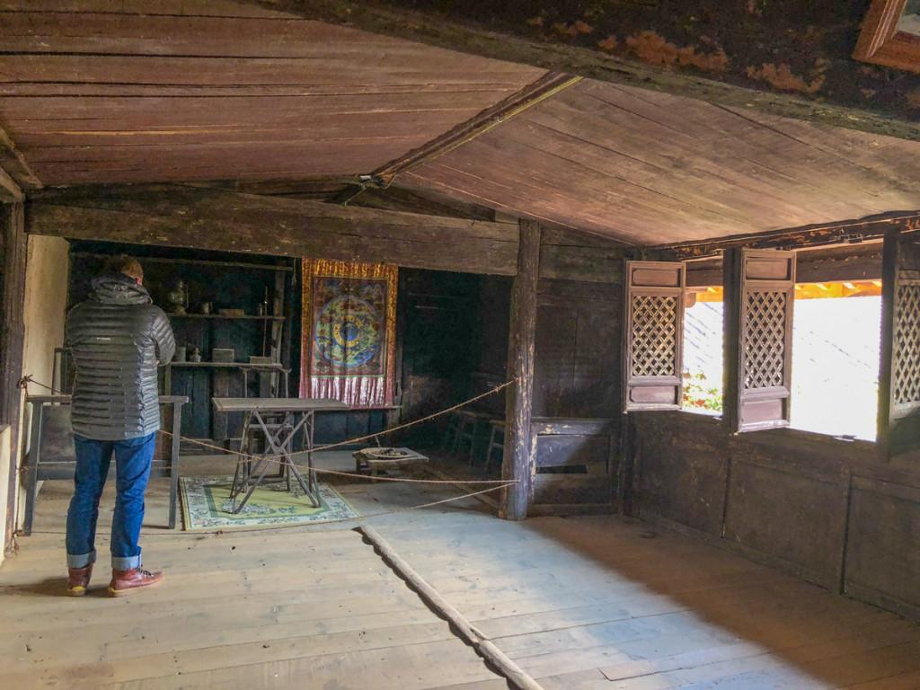 Комната Рока на втором этаже