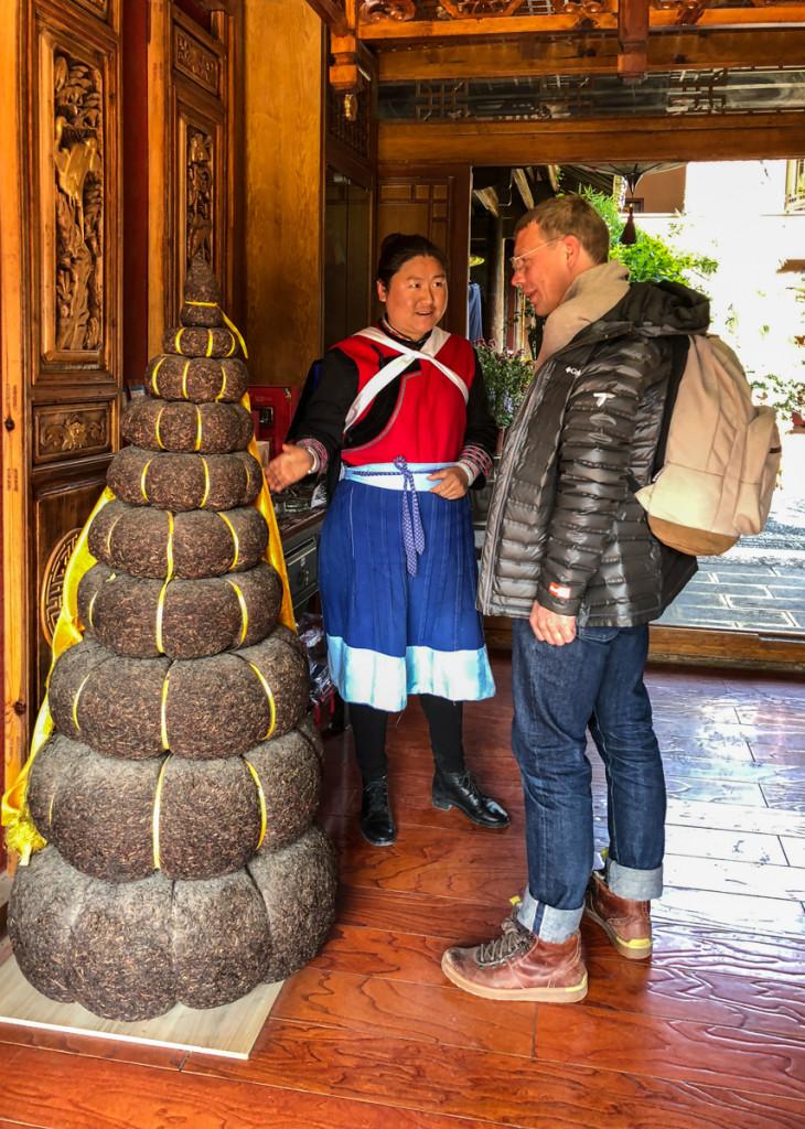 Чайная пирамида – и аттракцион, и способ хранения чай