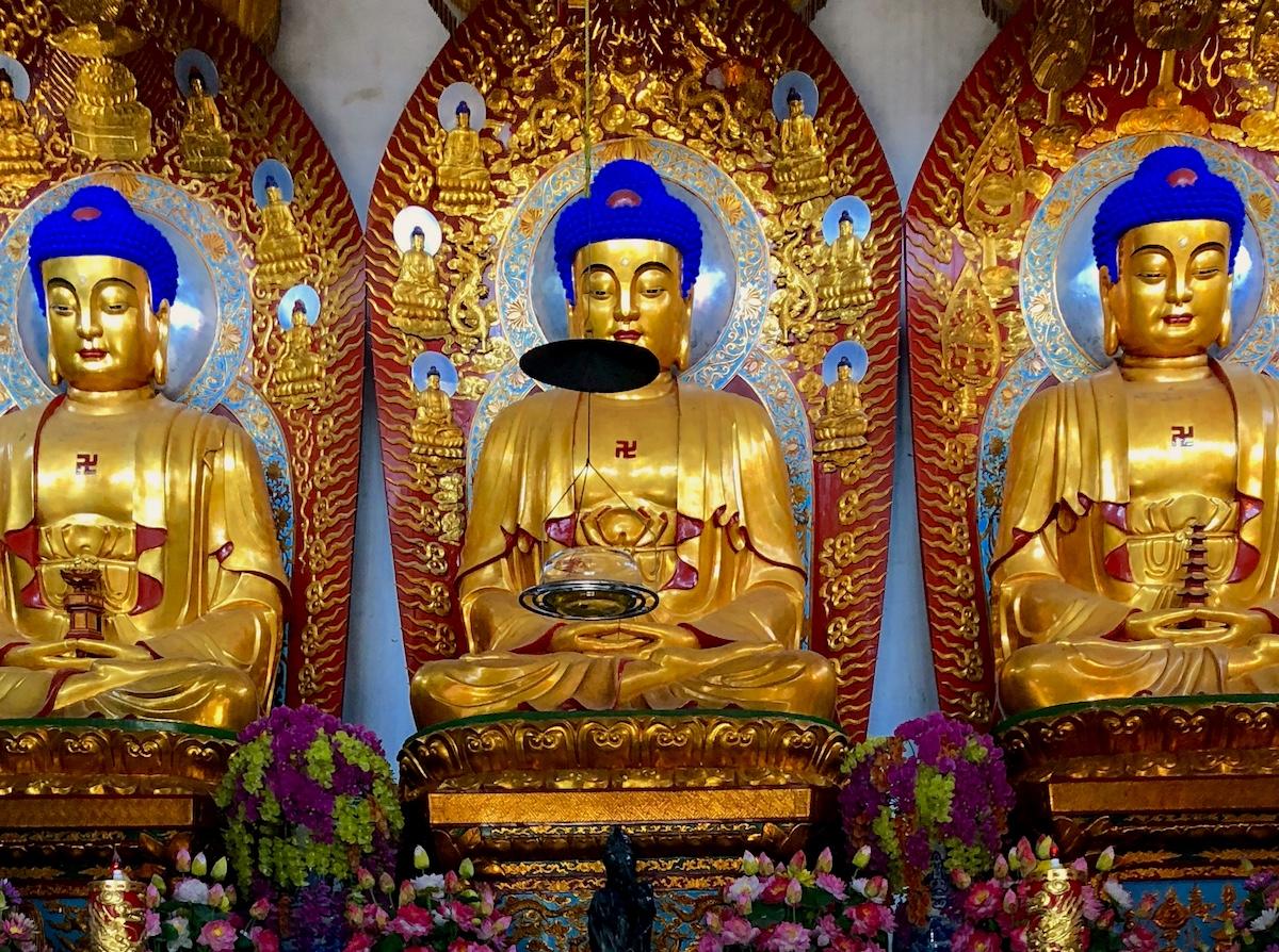 Amanfayun: Западное озеро, монастырь Faxi и ресторан шефа-монаха
