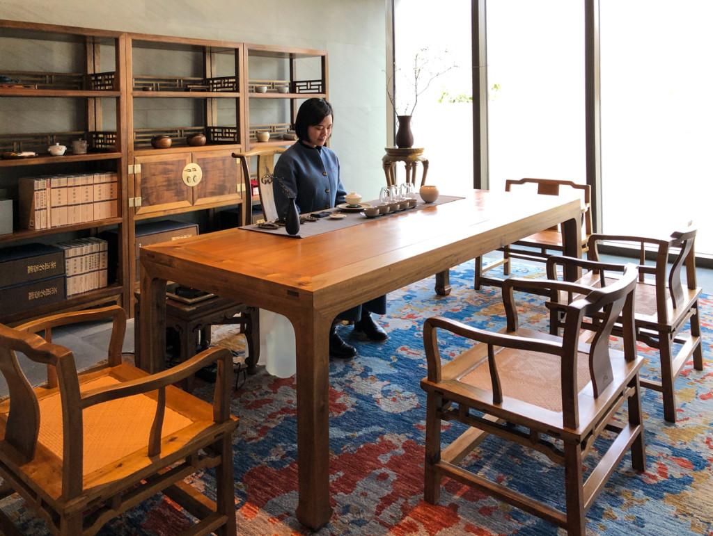 Наш кабинет для чайной церемонии