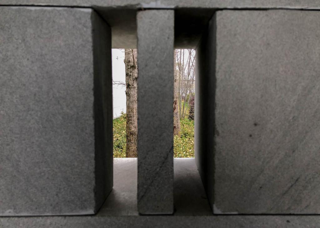 Каменная узорная кладка