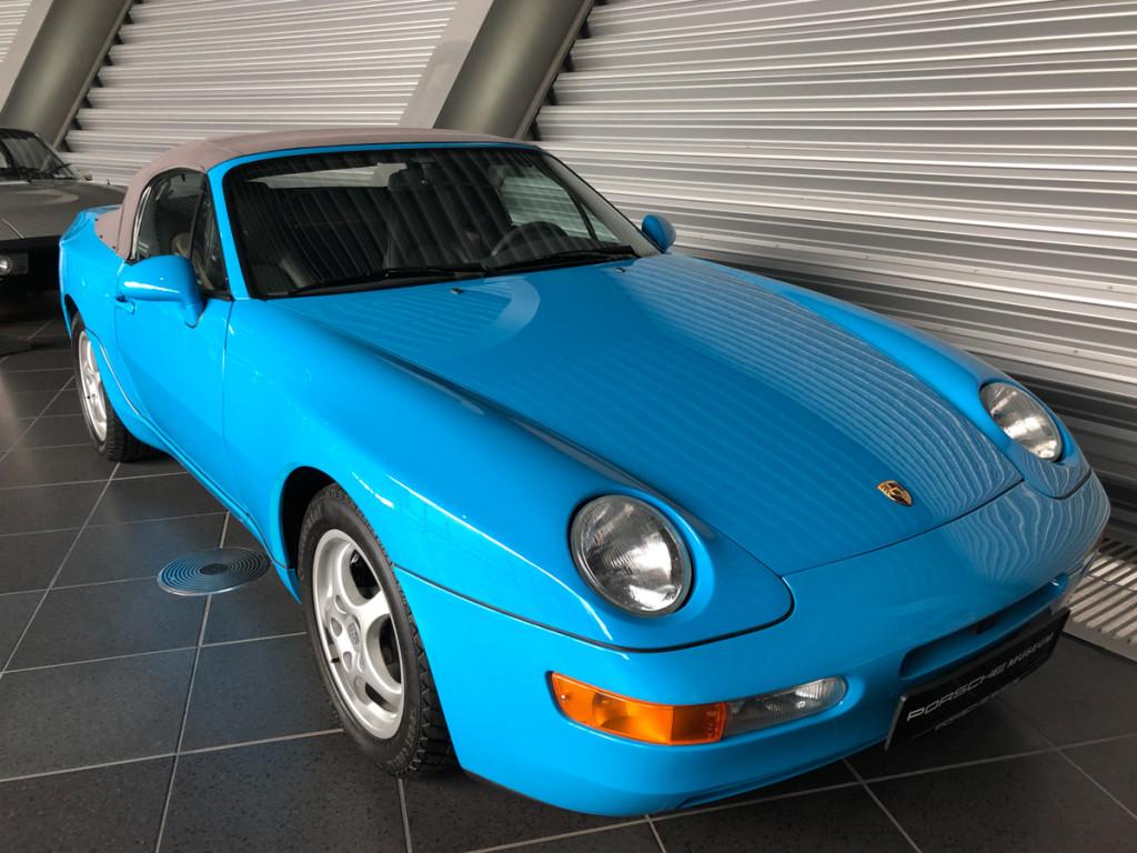 Porsche кабриолет