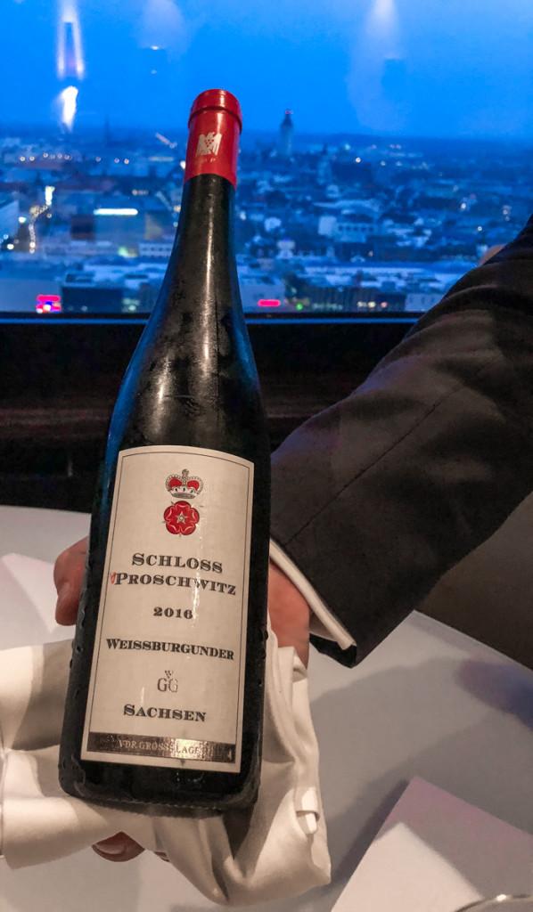 Вино из хозяйства Schloss Proschwitz Saxony
