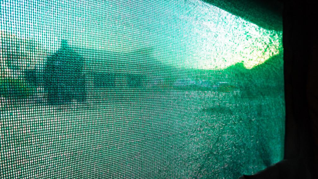 Окно палатки