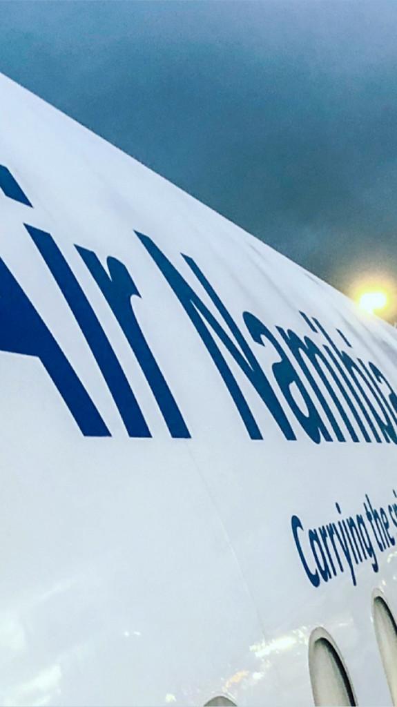 Самолет рейса Кейптаун-Виндхук