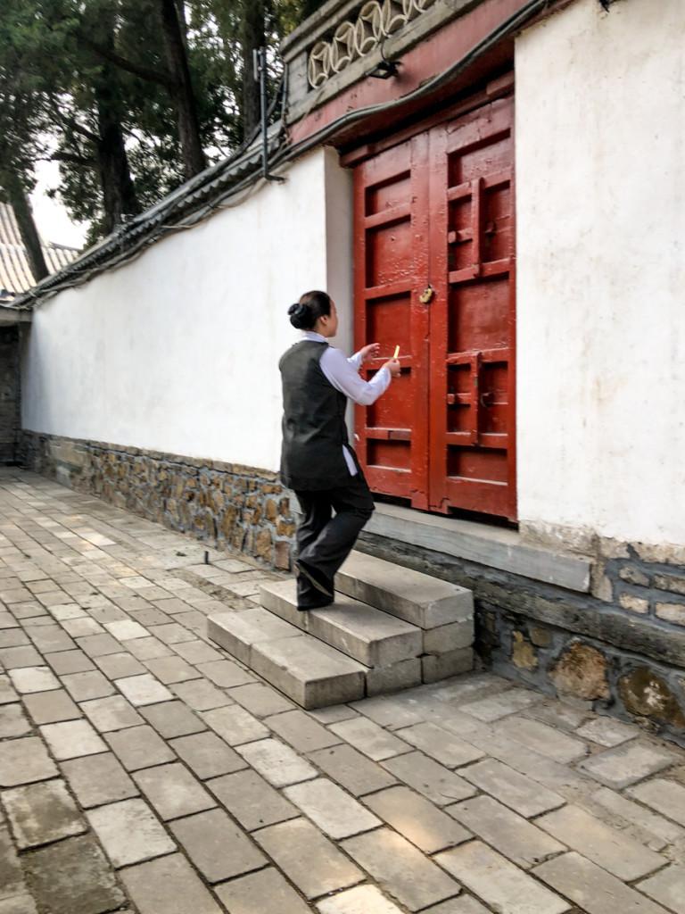 Тайная дверь