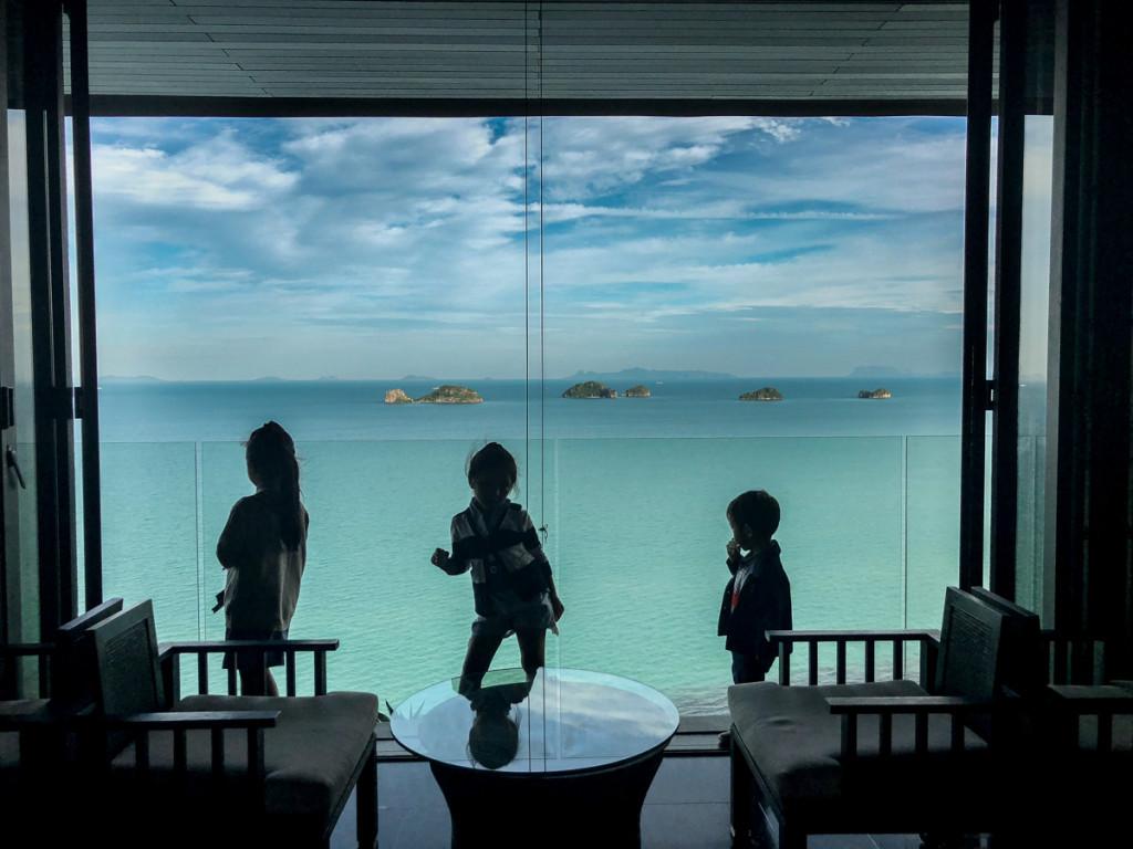 Вид с респшна на Сиамский залив