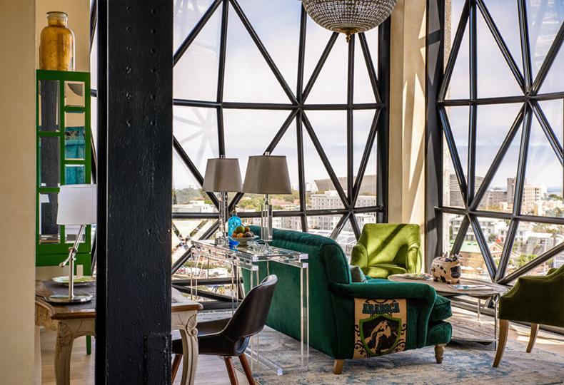 Отель Silo в Кейптауне, фото: www.theroyalportfolio.com