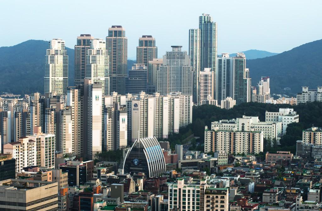 Дневной вид на Сеул