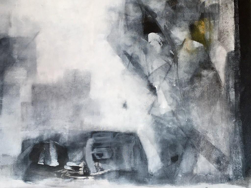 Акрил и холст (Acryl auf Leinwand), 100 x 70, 2014