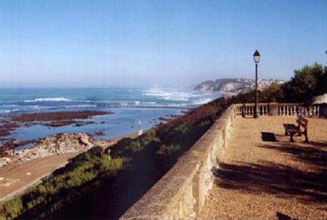 Страна басков, Bidart: дыхание китов на сторожевой башне