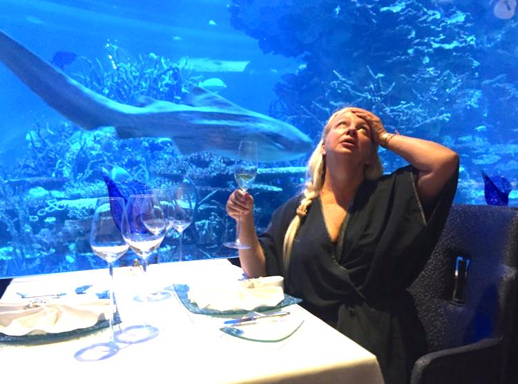 Дубай: подводный ресторан закроется через месяц