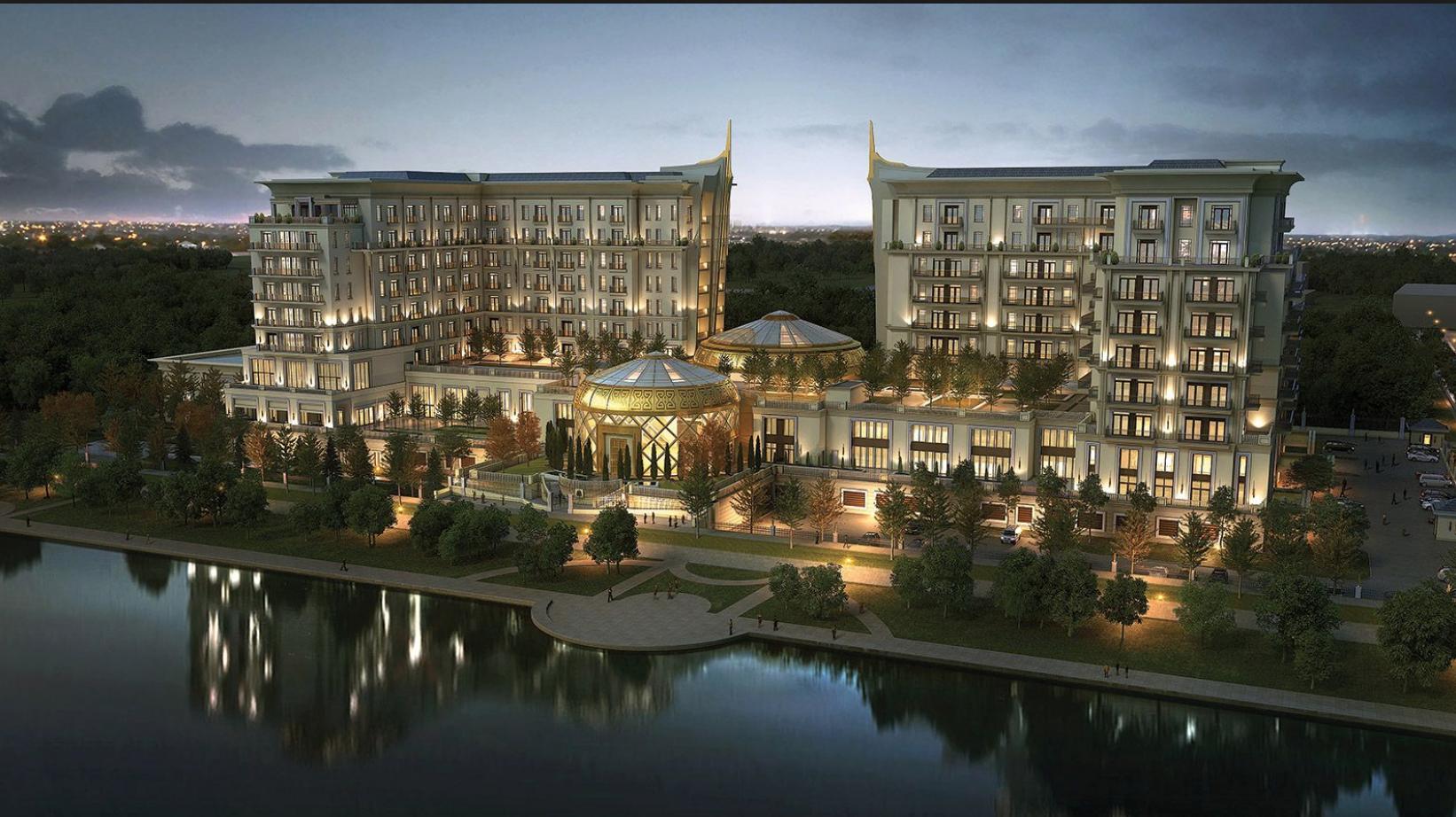 Астана: новый отель St Regis Astana как образец стиля