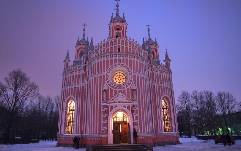 Чесменская церковь, asergeev.com