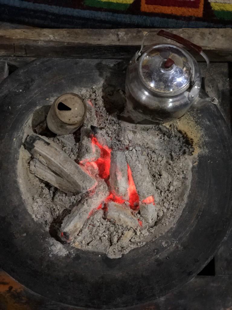 Печки –для чайника и для тепла