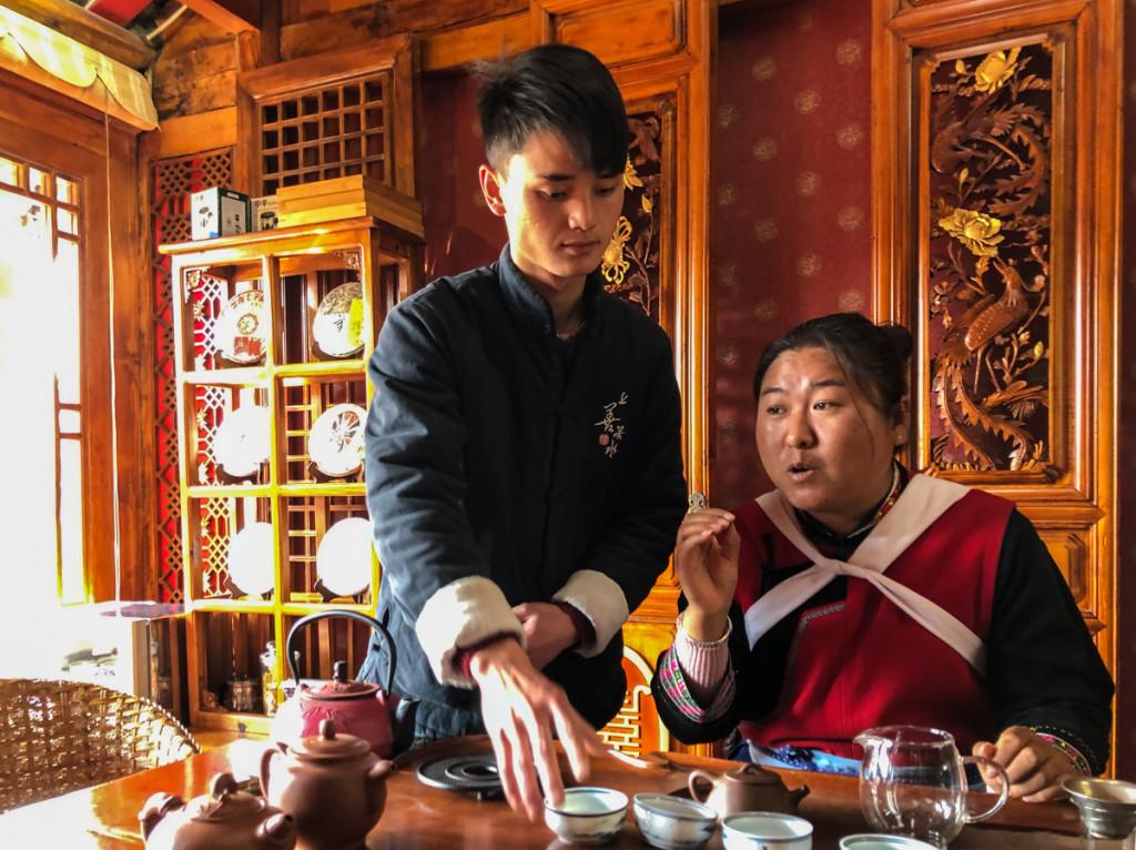 Мы в самом сердце чайной культуры –в провинции Юннань