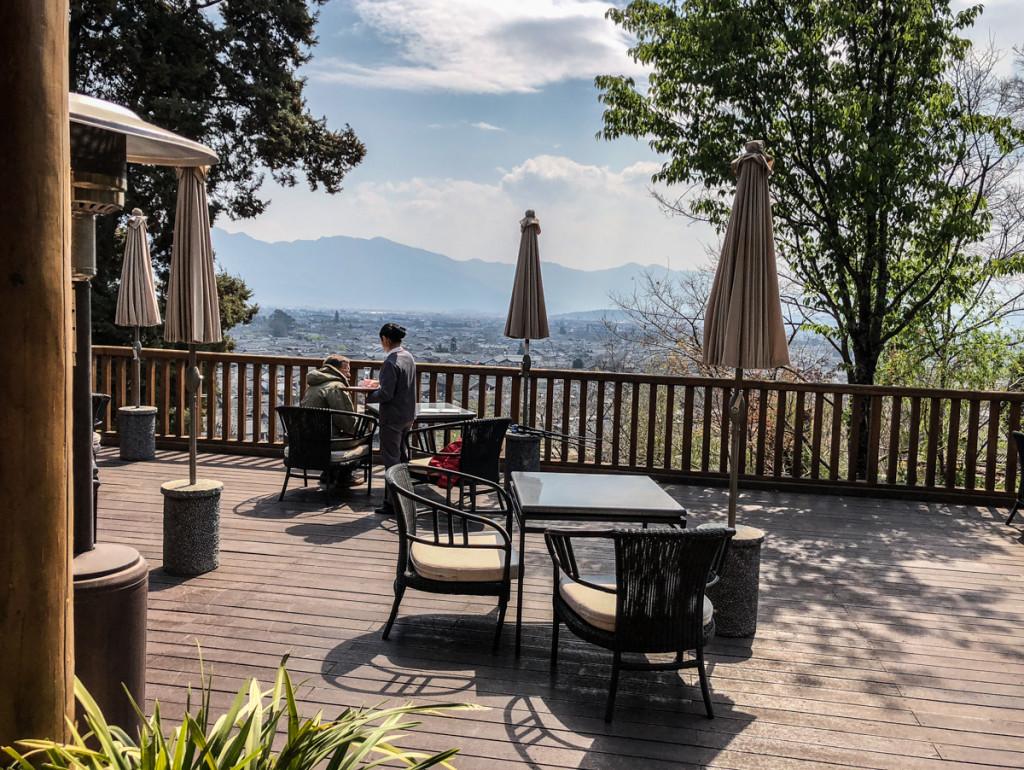 Вид с террасы Чайного павильона