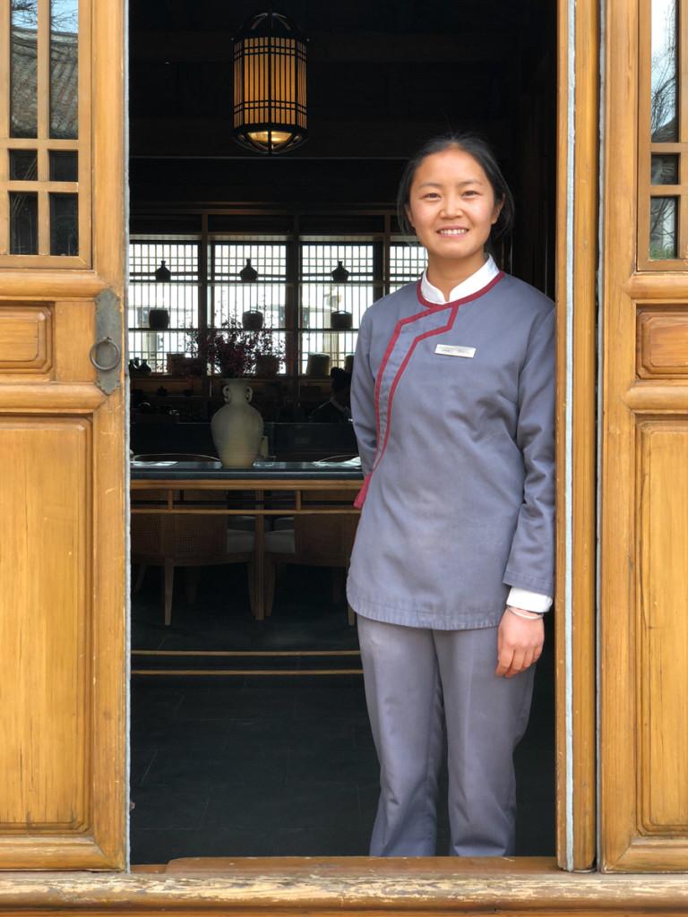 Сотрудницы Чайного павильона