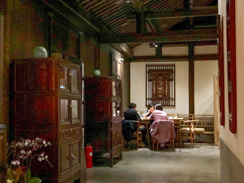 Входной холл Hangzhou house