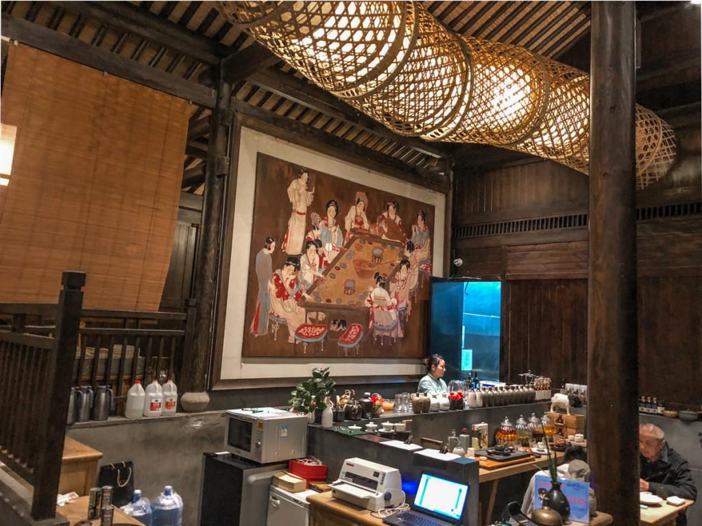 Главнный зал Hangzhou house