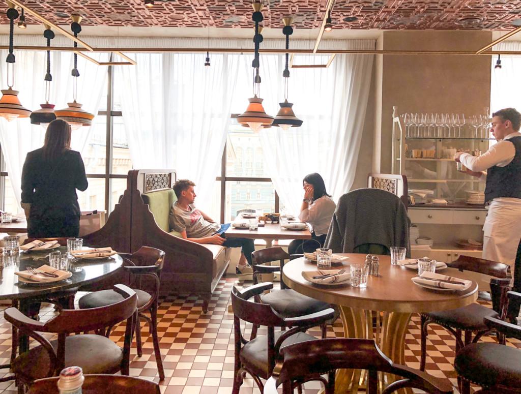 Интерьер ресторана Büro