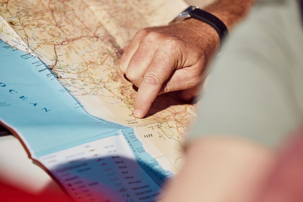 Ориентирование по карте