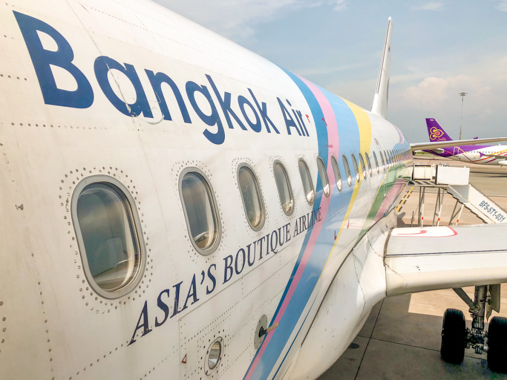 Борт компании Bangkok Air