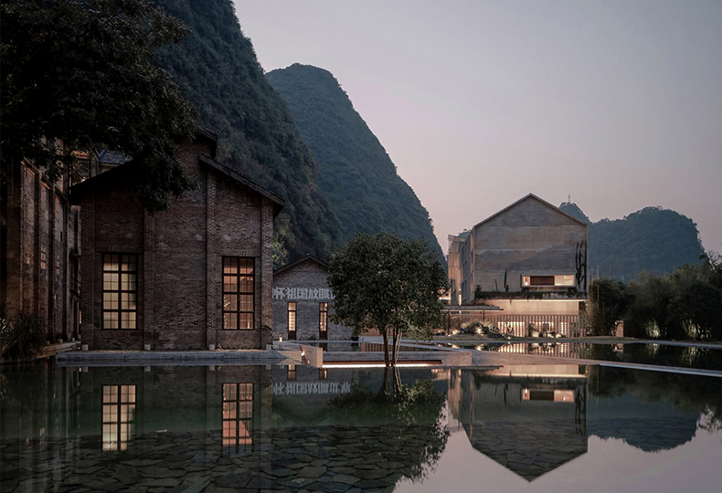Отель Alila Yangshuo в горах Яншуо в Китае, фото: Courtesy Vector Architects