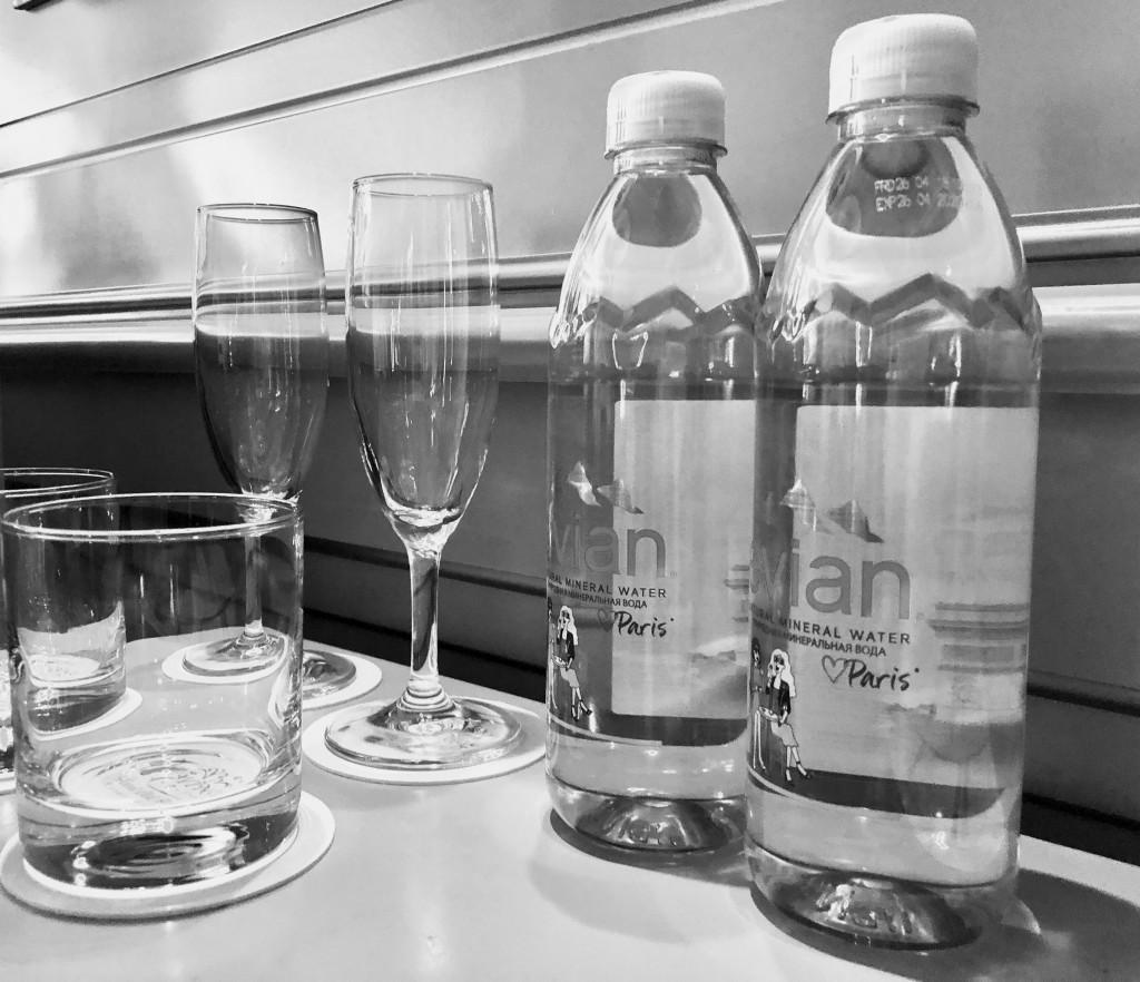 Вода в номере Old House